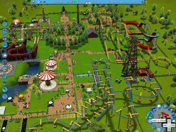 Rollercoaster Tycoon 3D : sur 3DS